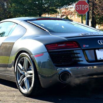 Audi R8 is fully protected with Xpel Ultimate Paint Protection Film by Signature Detailing New Jersey