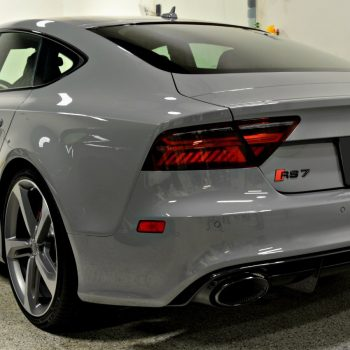 Audi RS7 shines with protection from ceramic nano coating from Signature Detailing NJ