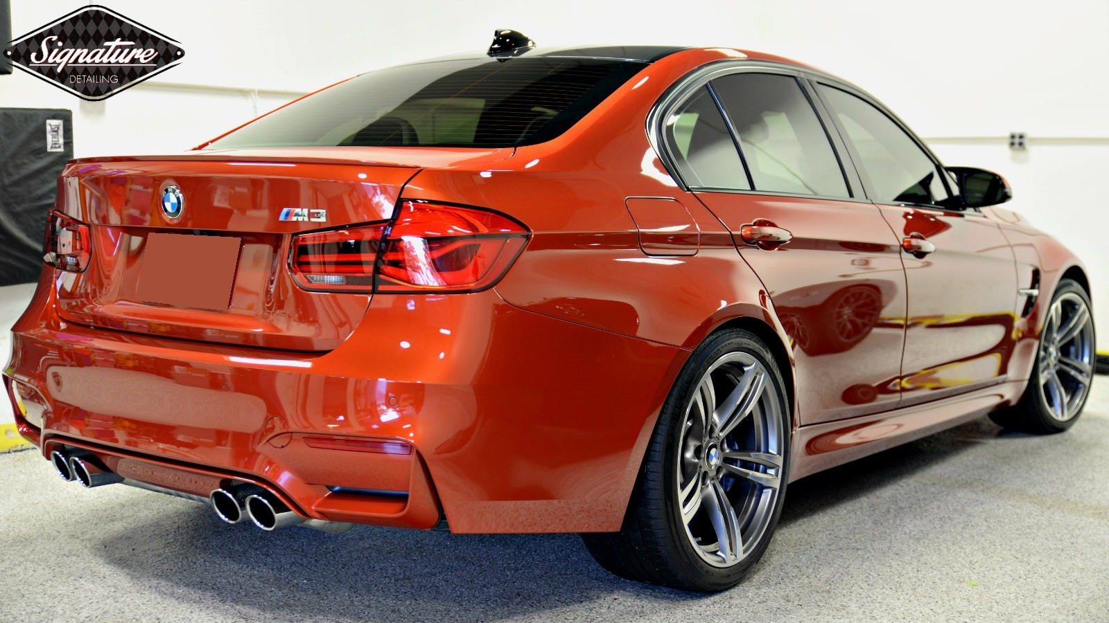 Greg Gellas of Signature Detailing NJ refined this BMW M3 with a full paint correction and ceramic nano coating.