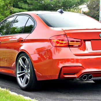 This BMW M3 was protected with Paint Protection Film and topped with a glass paint coating by Greg Gellas.
