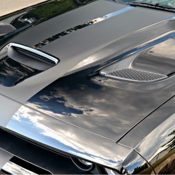 Dodge Hellcat shines with protection from Opti Coat ceramic coating.