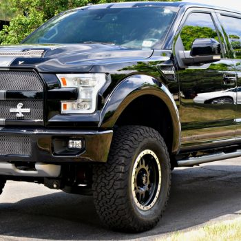 This rugged Shelby F150 is front end protected with Xpel Ultimate PPF by Signature Detailing