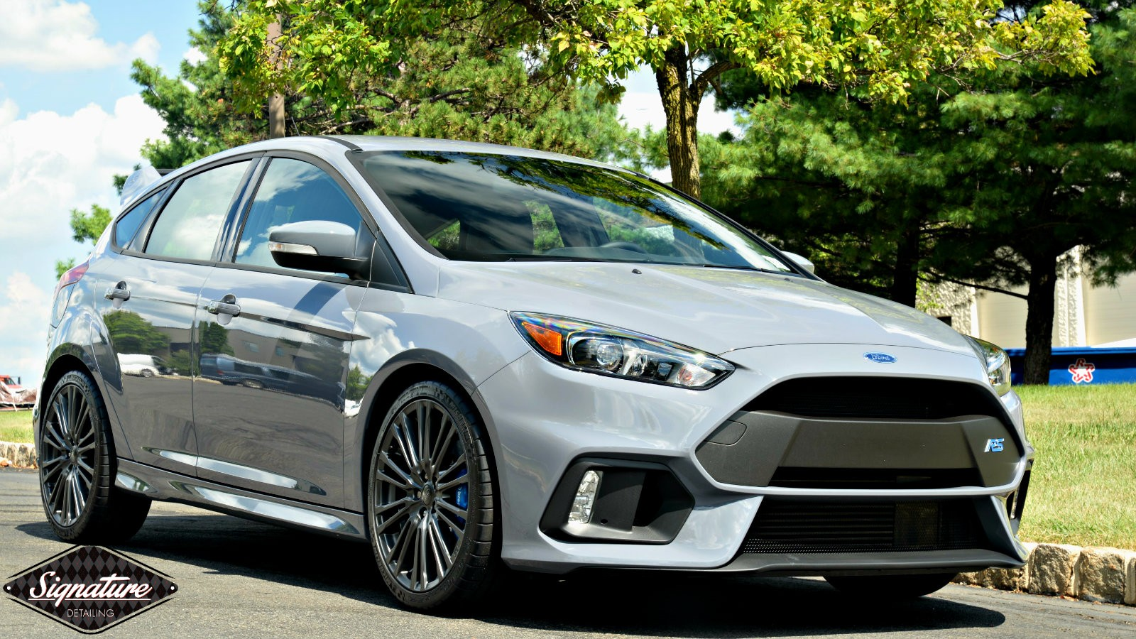 Ful Front end protection for this Ford Focus RS by Greg Gellas of Signature Detailing NJ & NYC