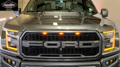 For Raptor is beautiful & protected after a paint correction & ceramic coating installation by Signature Detailing NJ.