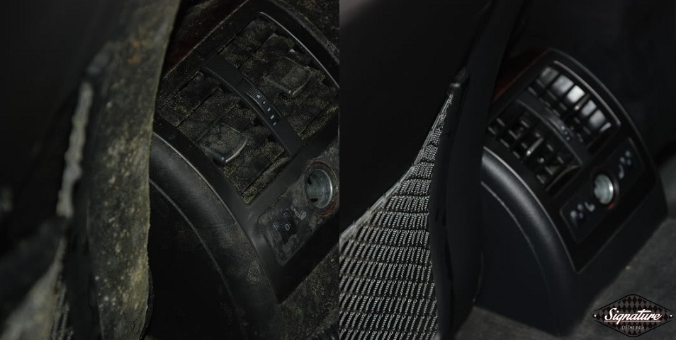 Extreme Mold Removal_Signature Detailing of Notthern New Jersey_Greg Gellas - Rear Vent BEFORE & AFTER