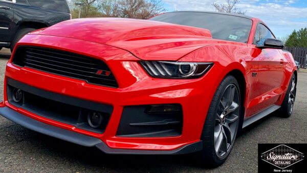 Mustang GT Paint Polishing (Correction) & Ceramic Coating Service for Long Term Shine by Signature Detailing Morristown NJ