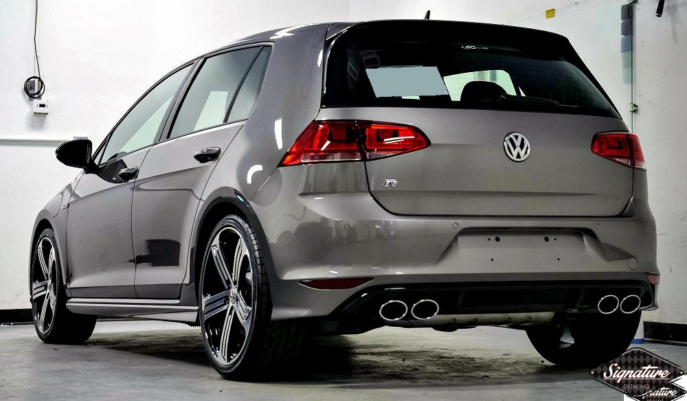 This Daily driven Golf R now has Opti-Coat Pro Ceramic Paint Coating to protect it - Signature Detailing NJ