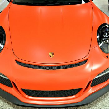 Porsche GT3RS with Xpel Stealth Matte PPF by Greg Gellas of Signature Detailing NJ