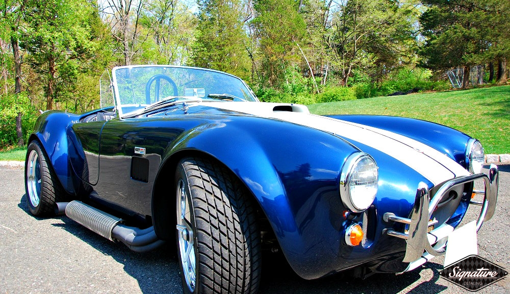 Shelby Cobra Replica Restoration Detail - Signature Detailing New Jersey - PS f 3-4