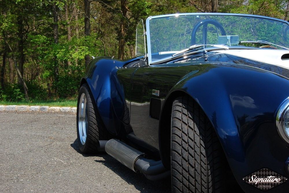 Shelby Cobra Replica Restoration Detail - Signature Detailing New Jersey - PS front 3-4 2