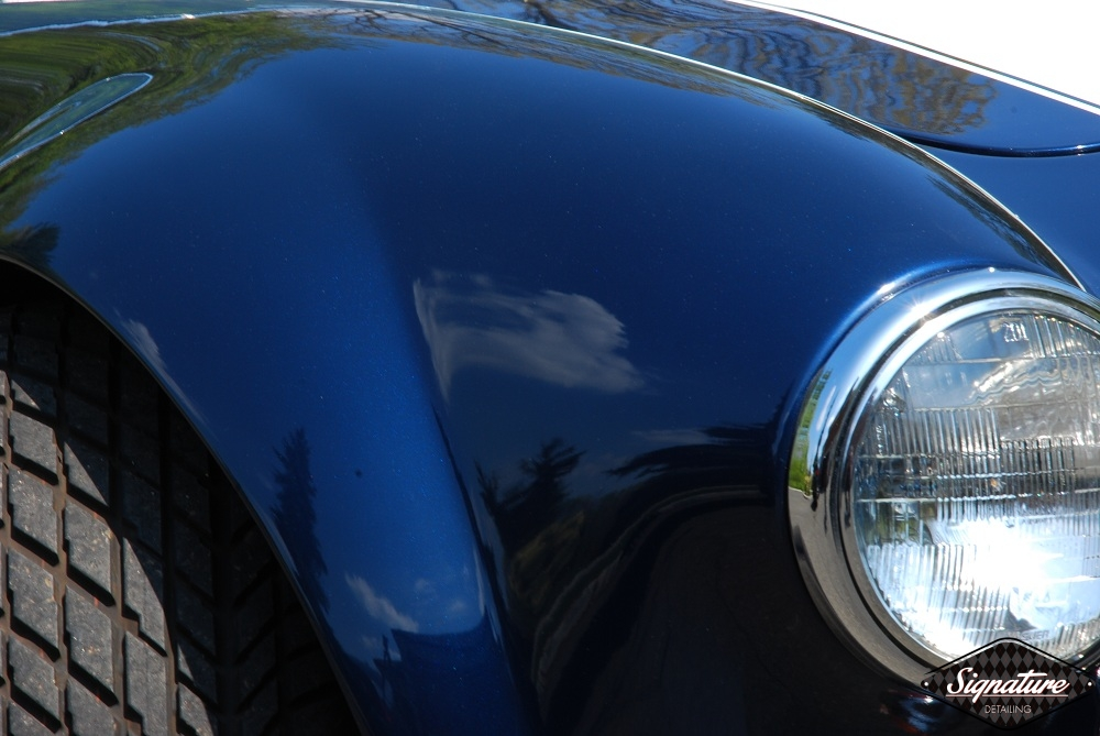 Shelby Cobra Replica Restoration Detail - Signature Detailing New Jersey - PS front QP CLOSE up