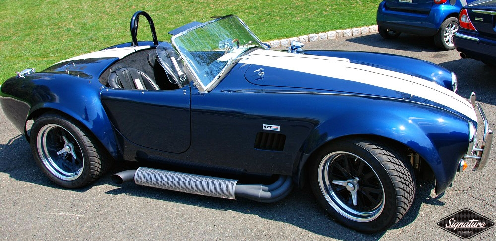 Shelby Cobra Replica Restoration Detail - Signature Detailing New Jersey - PS tp view