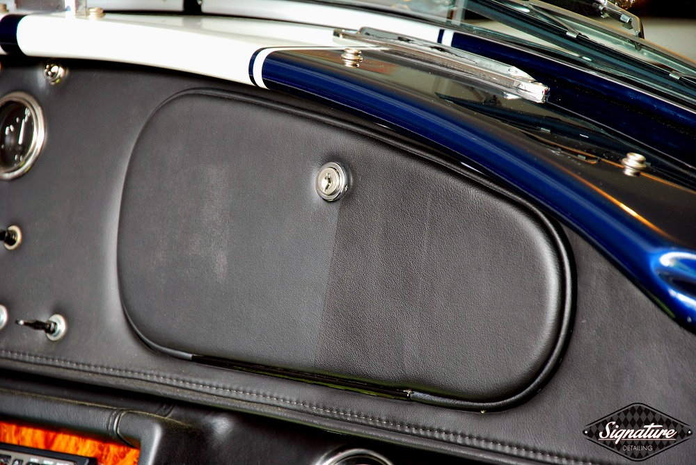 Shelby Cobra Replica Restoration Detail - Signature Detailing New Jersey - dash 50-50