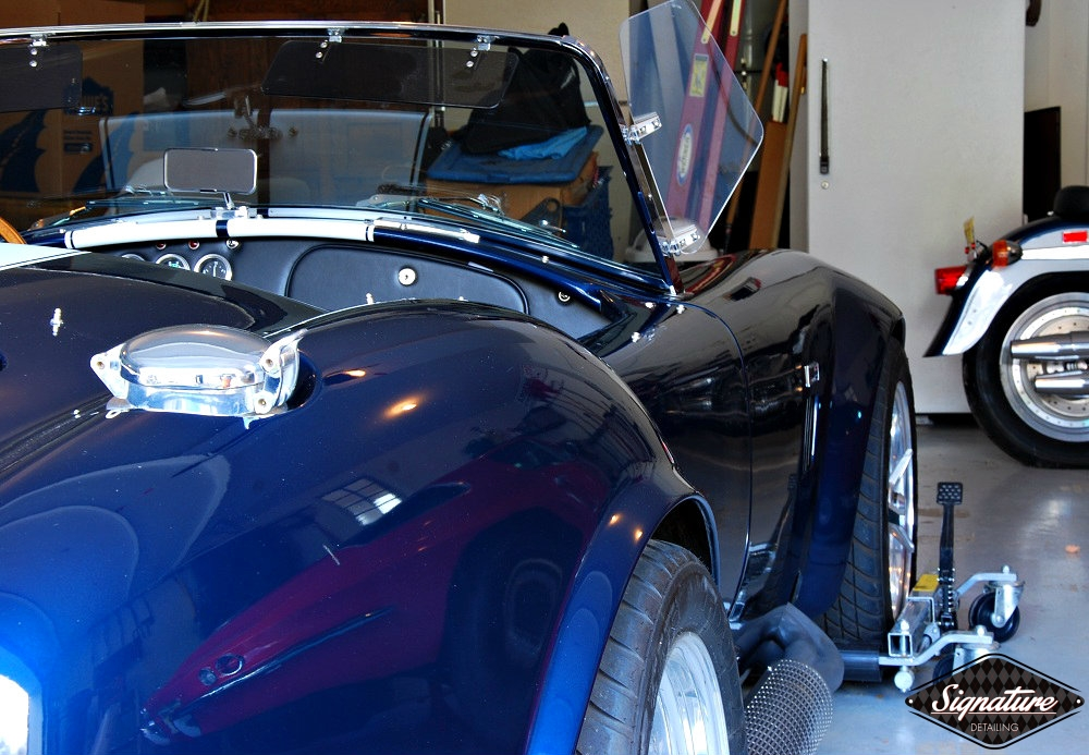 Shelby Cobra Replica Restoration Detail - Signature Detailing New Jersey - rear PS 3-4shot