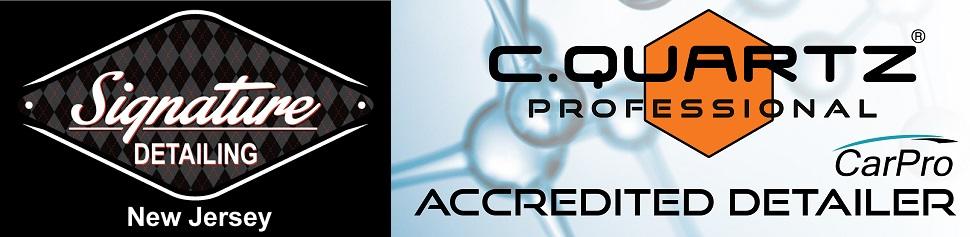 Signature Detailing NJ is a proud accredited installer of CQuartz Professional Ceramic Pro Coating