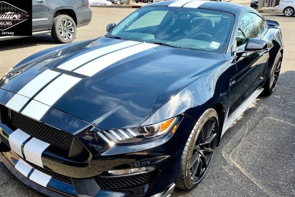 Mustang received paint polishing and ceramic nano coating by Signature Detailing in Hillsborough NJ