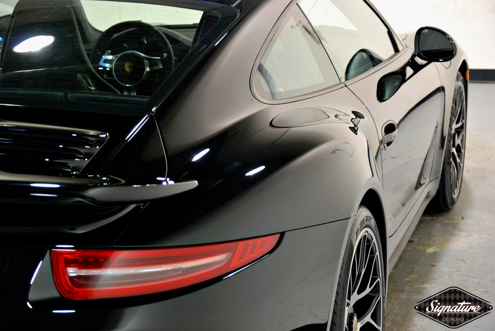SignatureDetailing.com - 911 Turbo - Paint Correction & CQuartz Professional Paint Coating - New Jersey Detailer