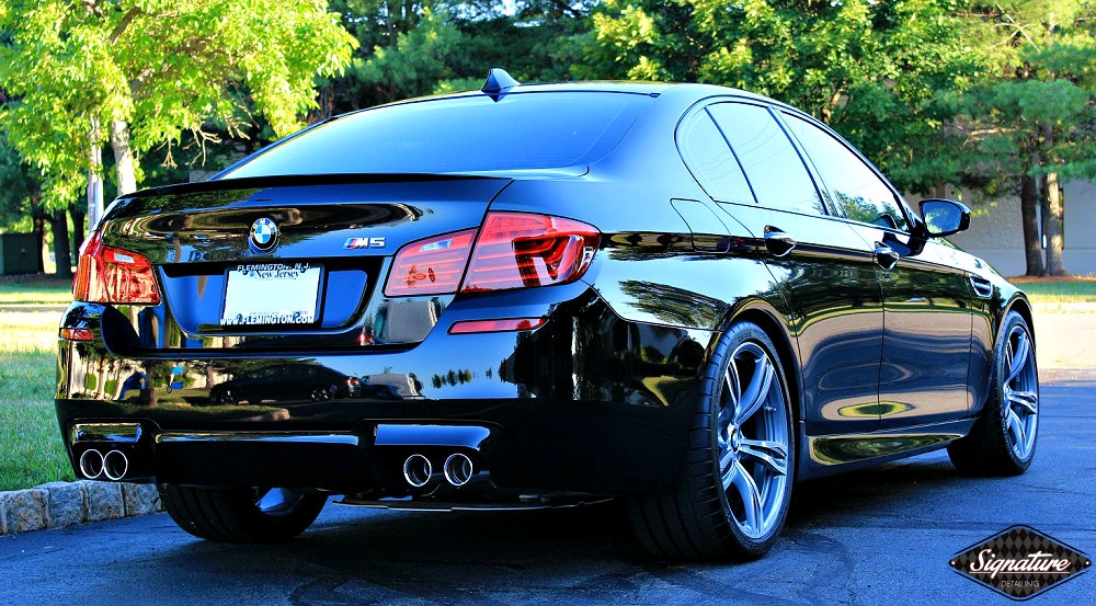 SignatureDetailing.com - BMW M5 - Paint Correction & CQuartz Professional - New Jersey Detailer