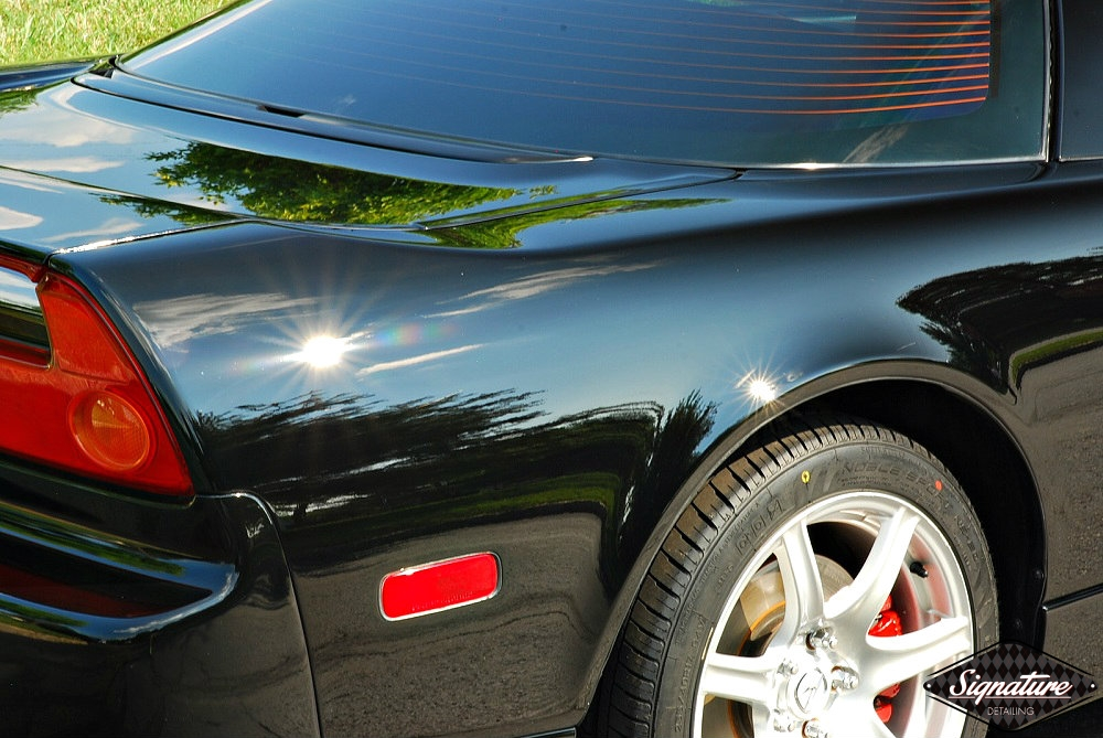 Acura Nsx Two Step Paint Correction Signature Detailing Nj